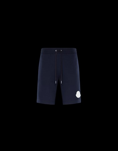SHORTS Dark blue Category JERSEY PANTS Man