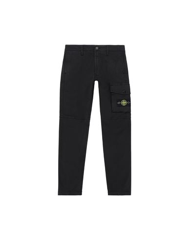 STONE ISLAND JUNIOR 30511 Trousers Man Black EUR 172