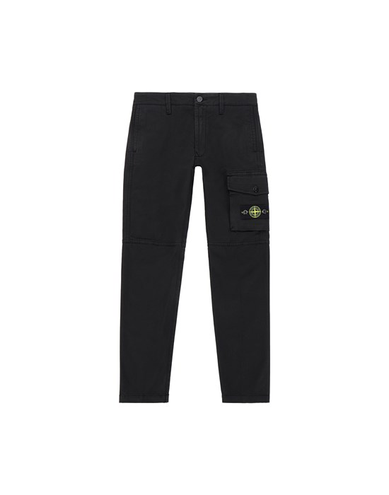 Trousers Man 30511 Front STONE ISLAND JUNIOR