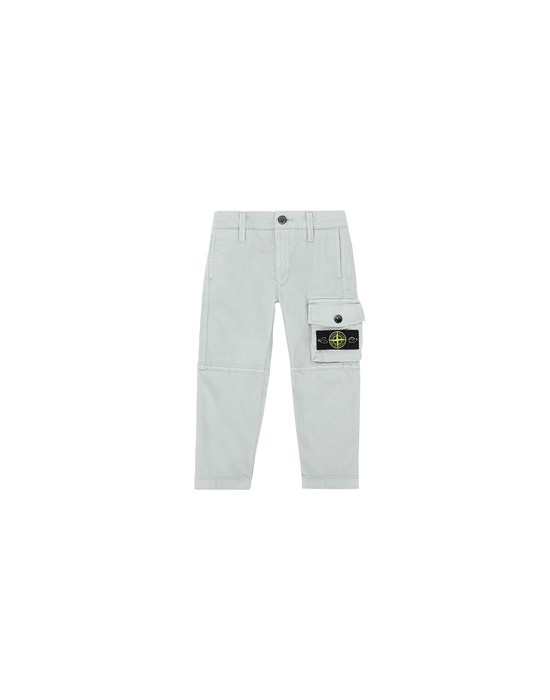 STONE ISLAND JUNIOR 30511 Trousers Man Dust Grey