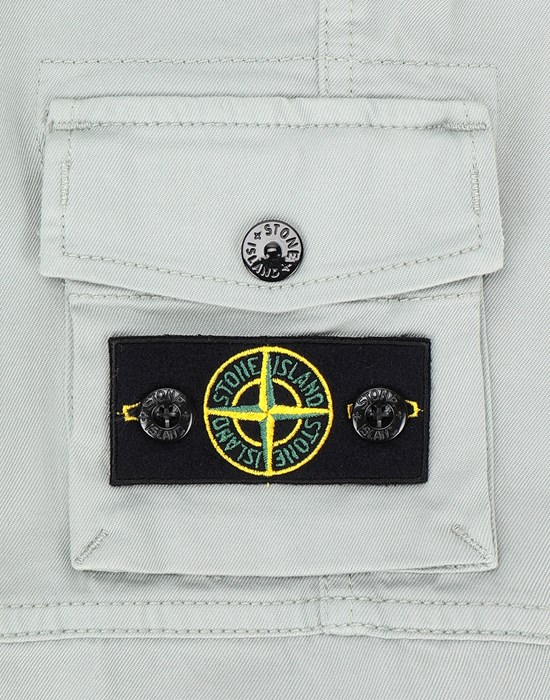 13553832ag - TROUSERS - 5 POCKETS STONE ISLAND JUNIOR