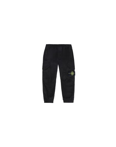 STONE ISLAND BABY 30412 PANTS - 5 POCKETS Man Black USD 242