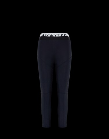 CASUAL TROUSER Black Category ATHLETIC TROUSERS Woman