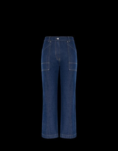 CASUAL TROUSER Blue Category Casual trousers Woman