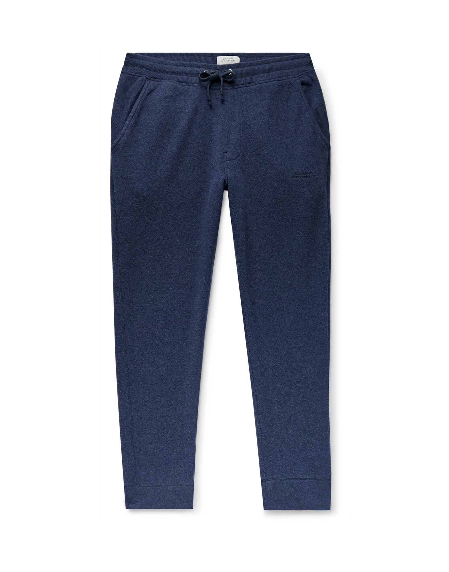 《セール開催中》SATURDAYS NEW YORK CITY メンズ パンツ ブルー S ウール 47% / コットン 39% / ナイロン 14%