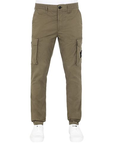 STONE ISLAND 31819 Pants Man Olive Green USD 270