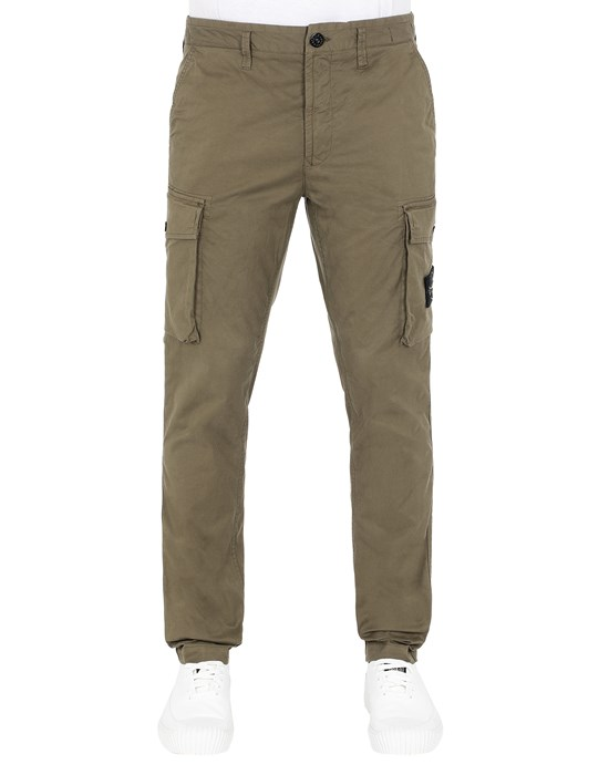 STONE ISLAND 31819 Pants Man Olive Green