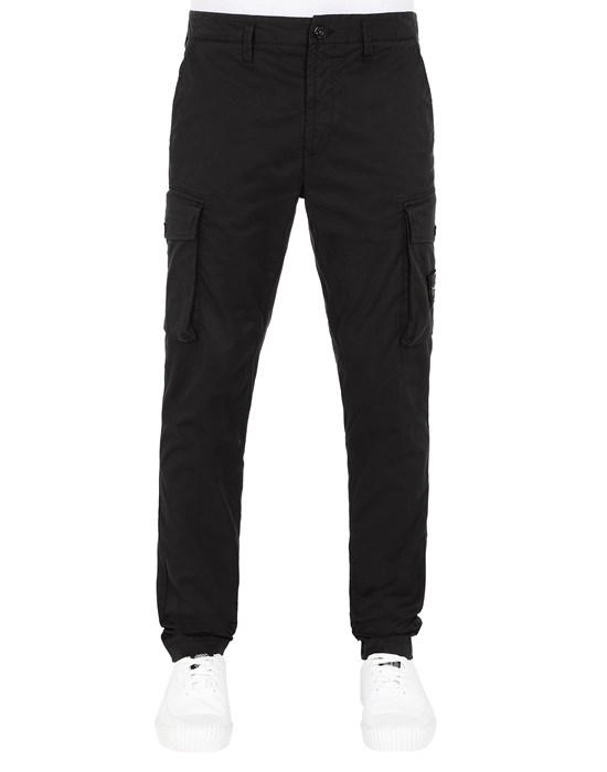 STONE ISLAND 31819 Trousers Man Black