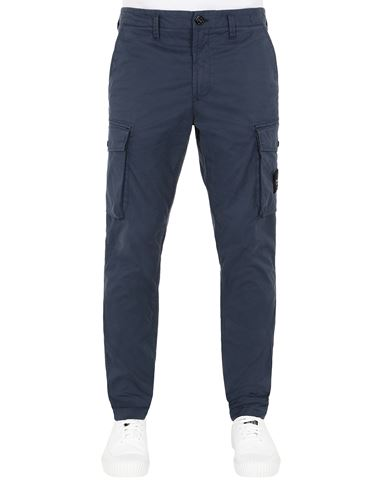 STONE ISLAND 31819 Pants Man Avio Blue USD 288