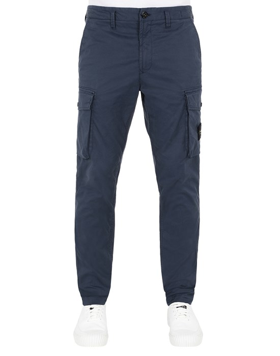 STONE ISLAND 31819 Trousers Man Avio Blue