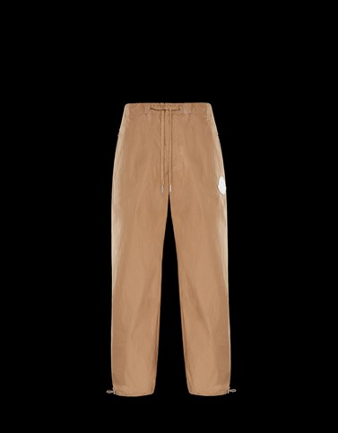 ATHLETIC TROUSERS Camel Trousers Man