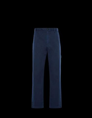 CASUAL TROUSER Blue New in Man