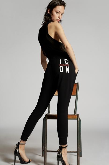 Pantalon sweat Taille XXS 100% Coton - Dsquared2 - Modalova