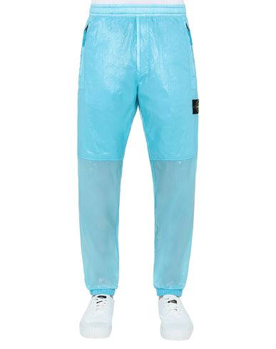 STONE ISLAND 30835 LUCIDO-TC_PACKABLE TROUSERS Man Turquoise USD 540