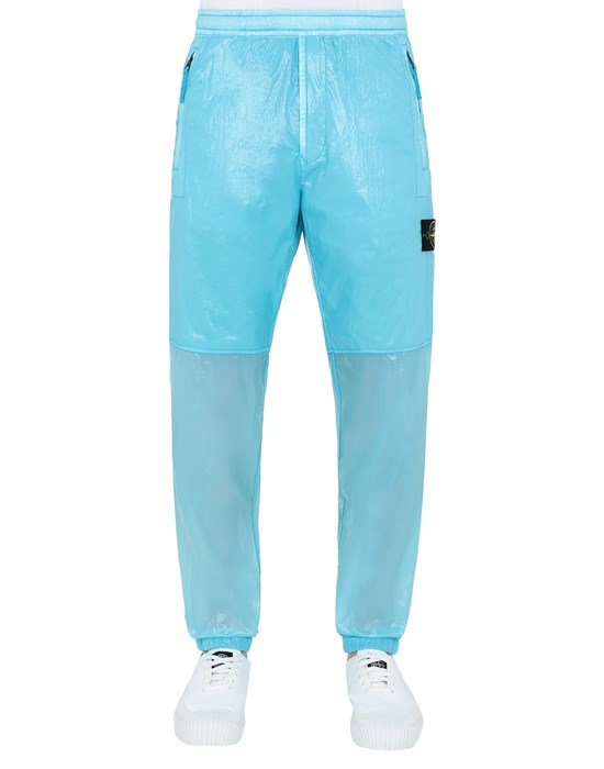 STONE ISLAND 30835 LUCIDO-TC_PACKABLE TROUSERS Man Turquoise