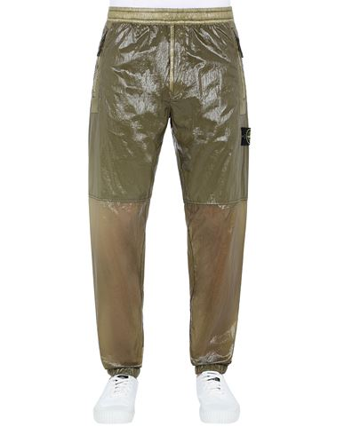 STONE ISLAND 30835 LUCIDO-TC_PACKABLE TROUSERS Man Olive Green USD 422