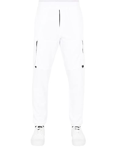 STONE ISLAND 60551 Trousers Man White EUR 295