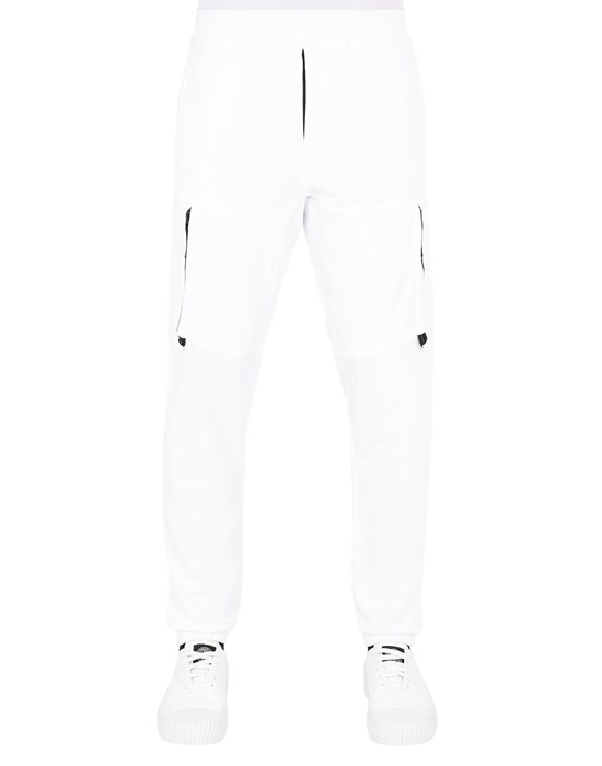 STONE ISLAND 60551 Pants Man White
