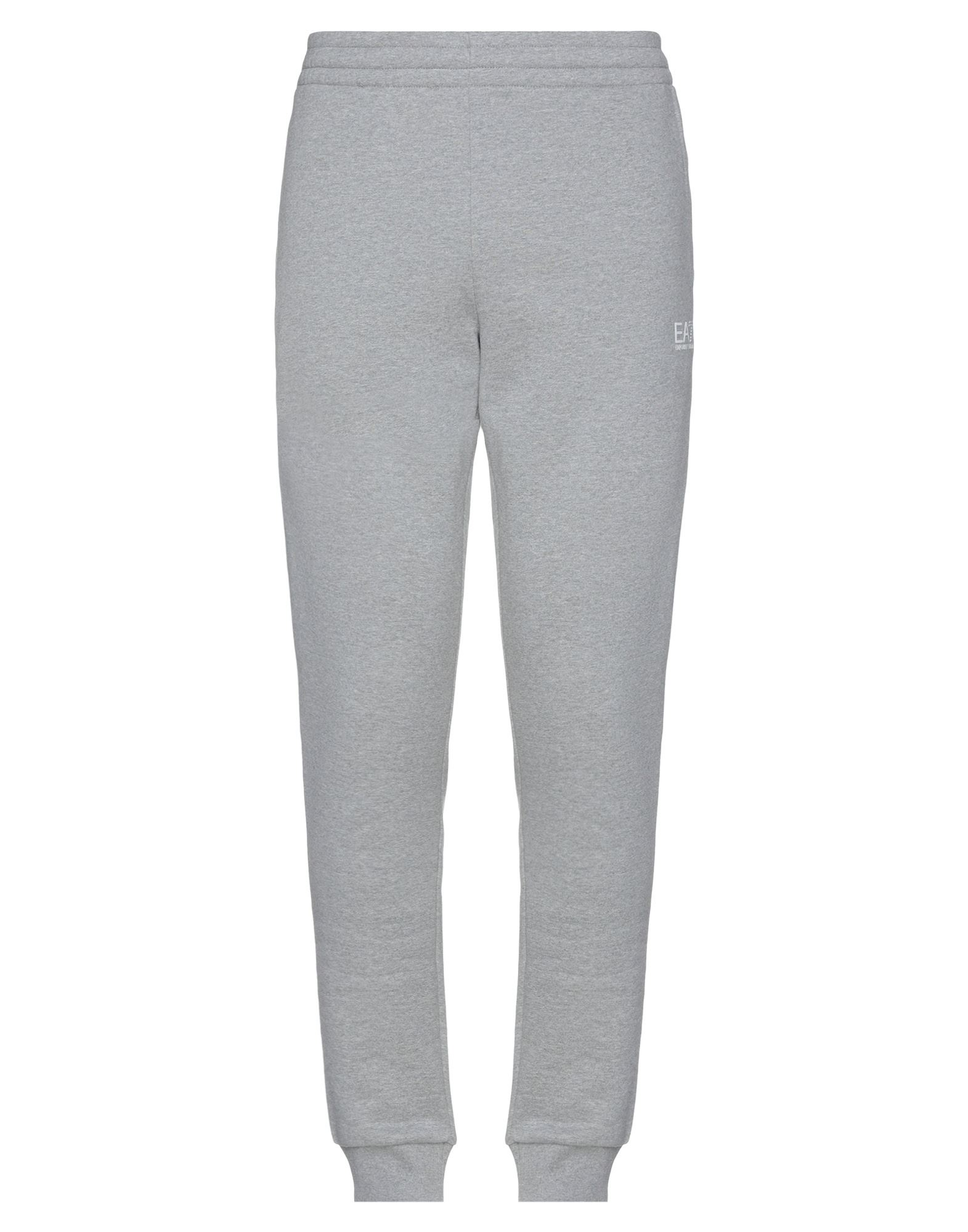 Ea7 Casual Pants In Gray