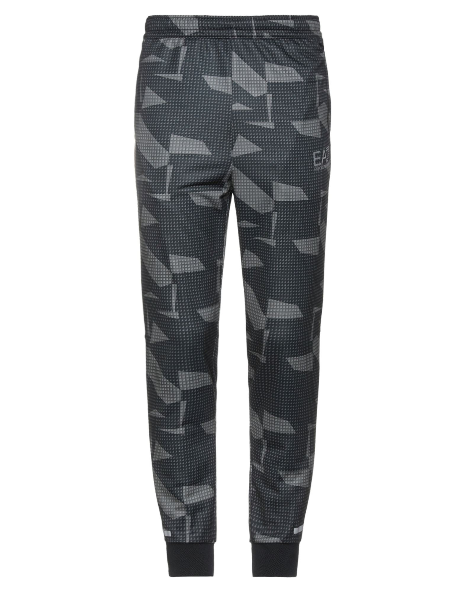 Ea7 Casual Pants In Military Green