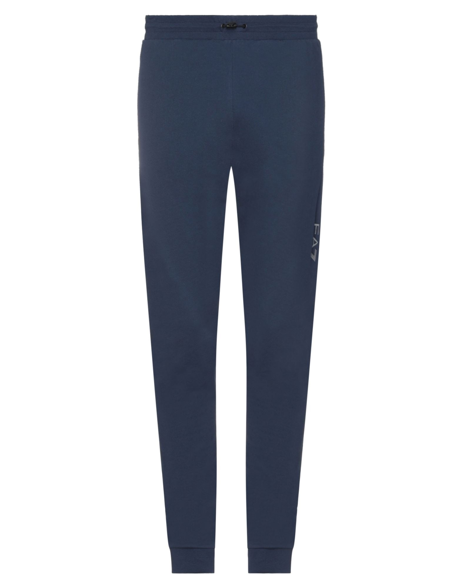 Ea7 Casual Pants In Blue