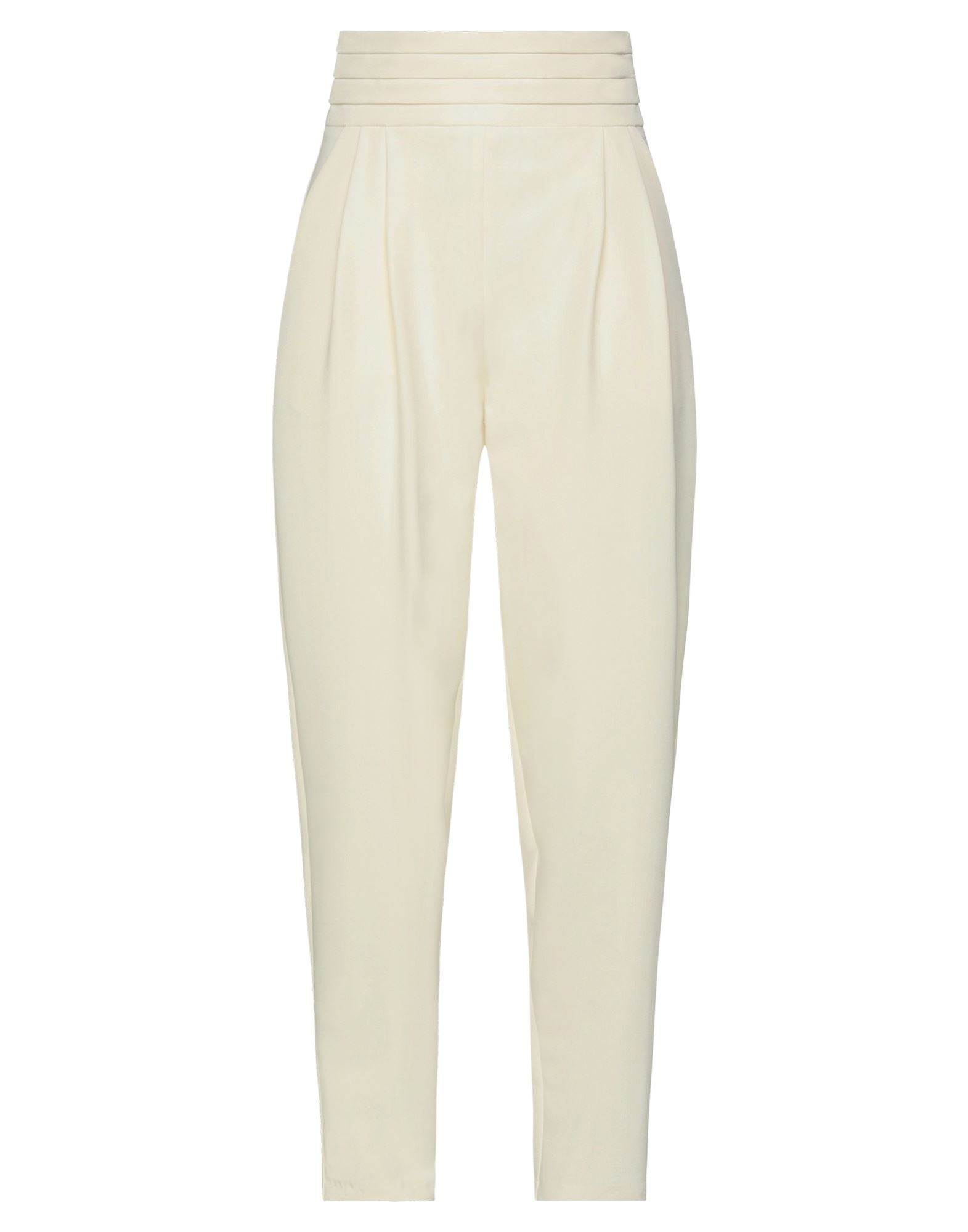 Actualee Casual Pants In White