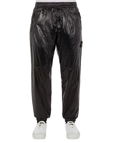 STONE ISLAND 30835 LUCIDO-TC_PACKABLE TROUSERS - 5 POCKETS Man Black EUR 390