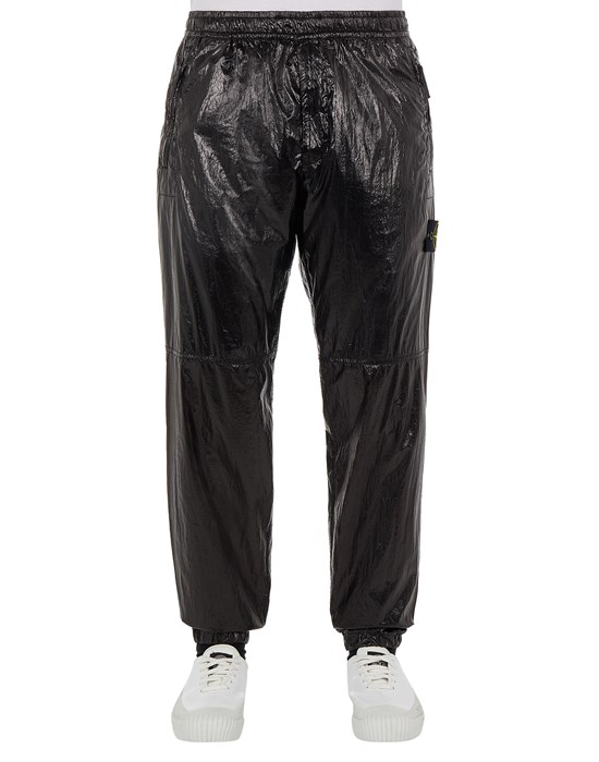 STONE ISLAND 30835 LUCIDO-TC_PACKABLE TROUSERS - 5 POCKETS Man Black
