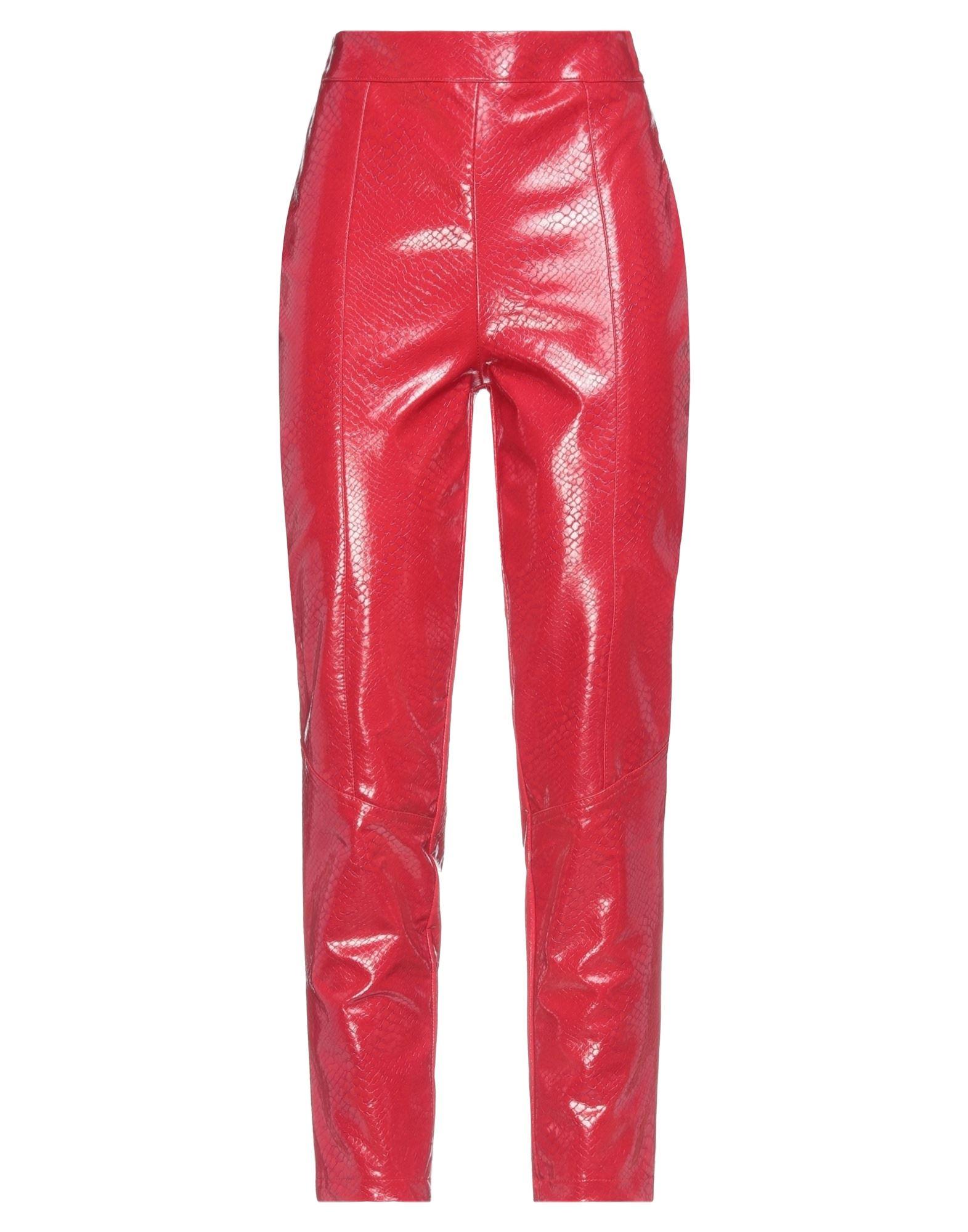 Giulia N Casual Pants In Red