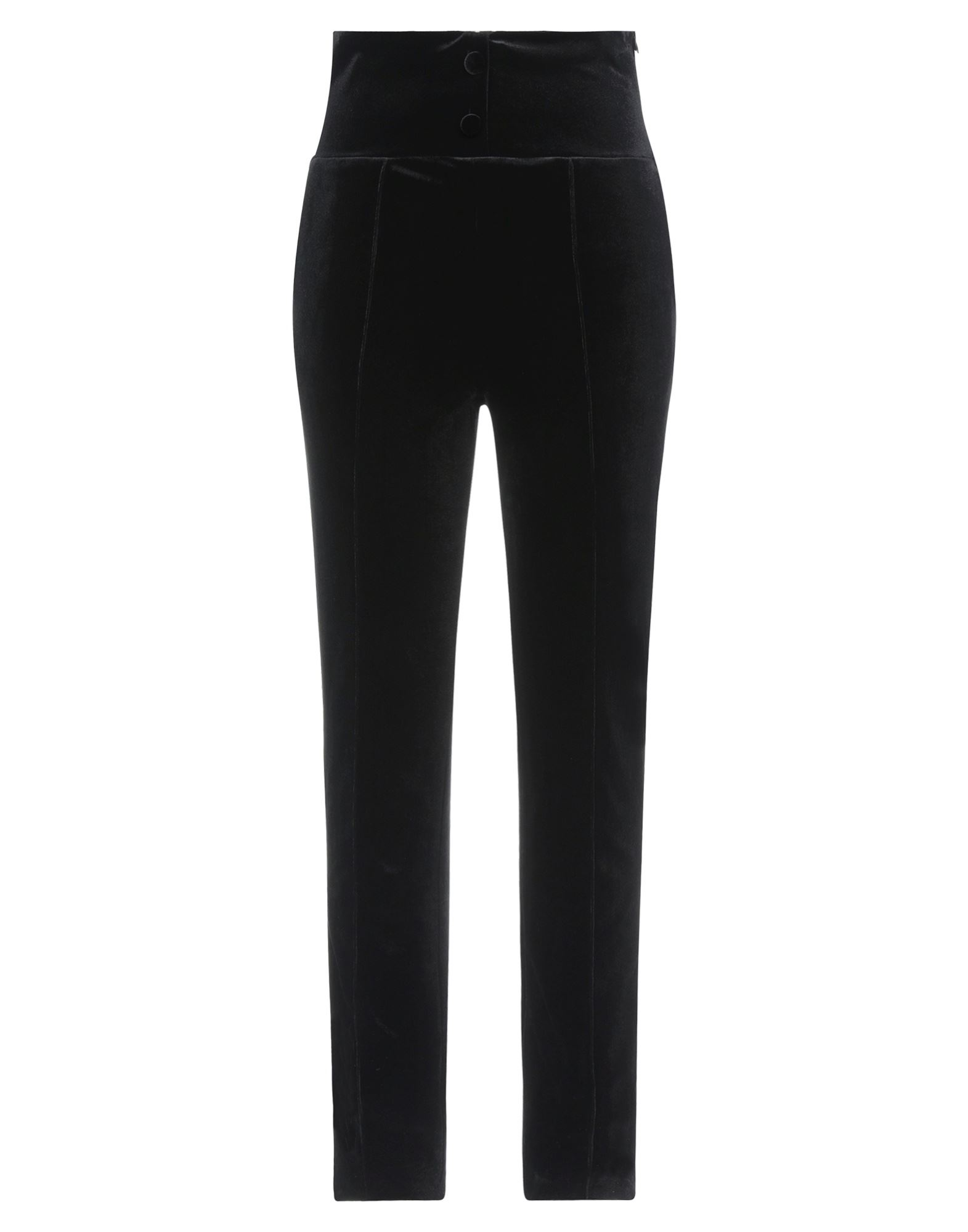 Actualee Casual Pants In Black