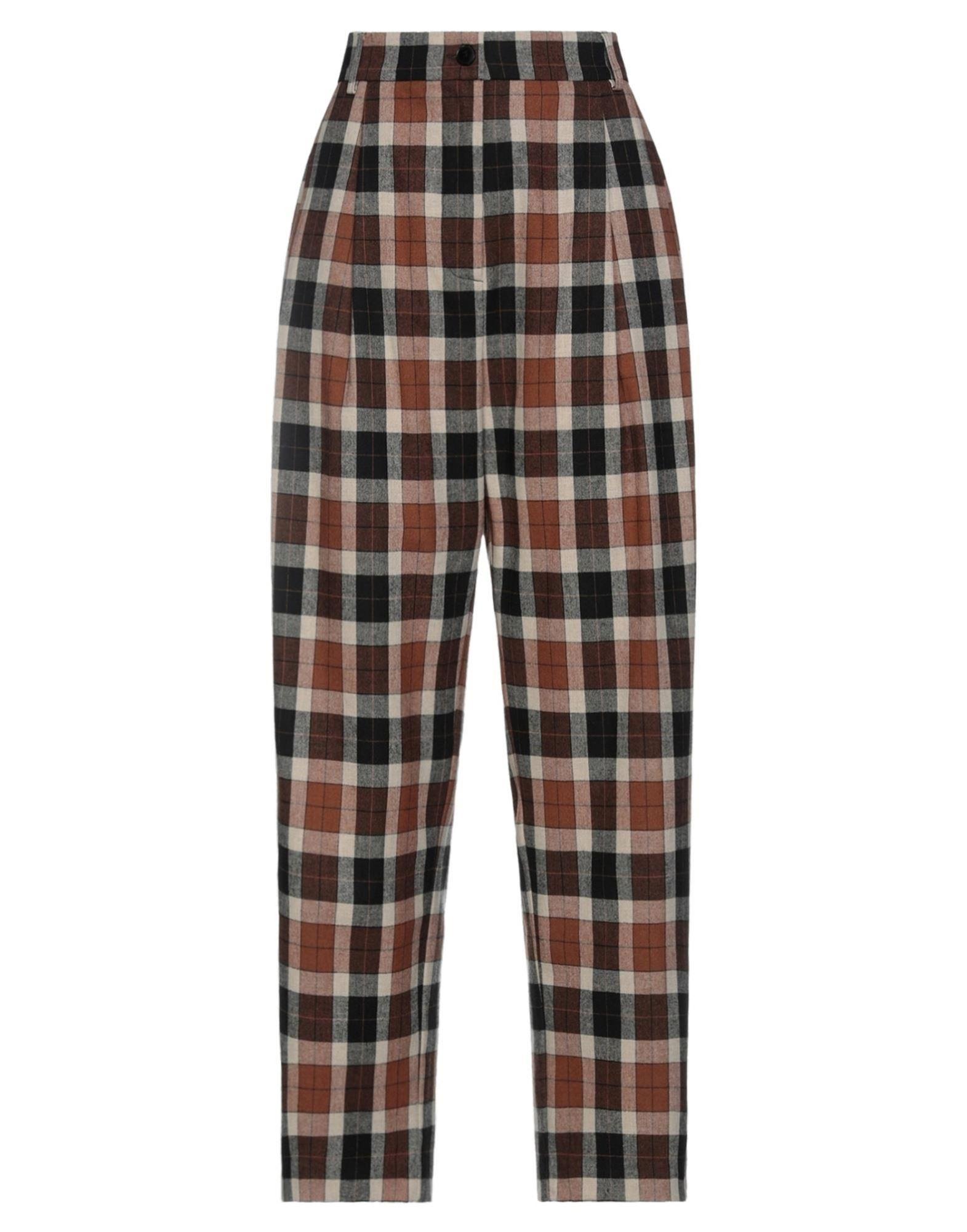 Suoli Casual Pants In Brown