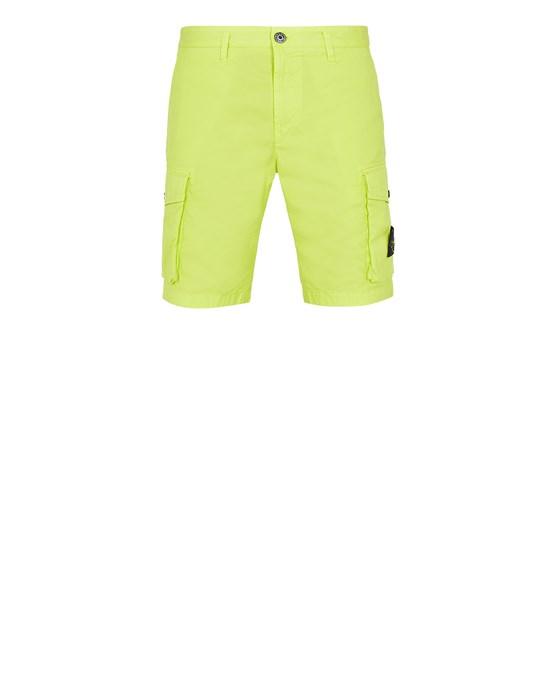 STONE ISLAND L0719 Bermuda shorts Man Pistachio Green