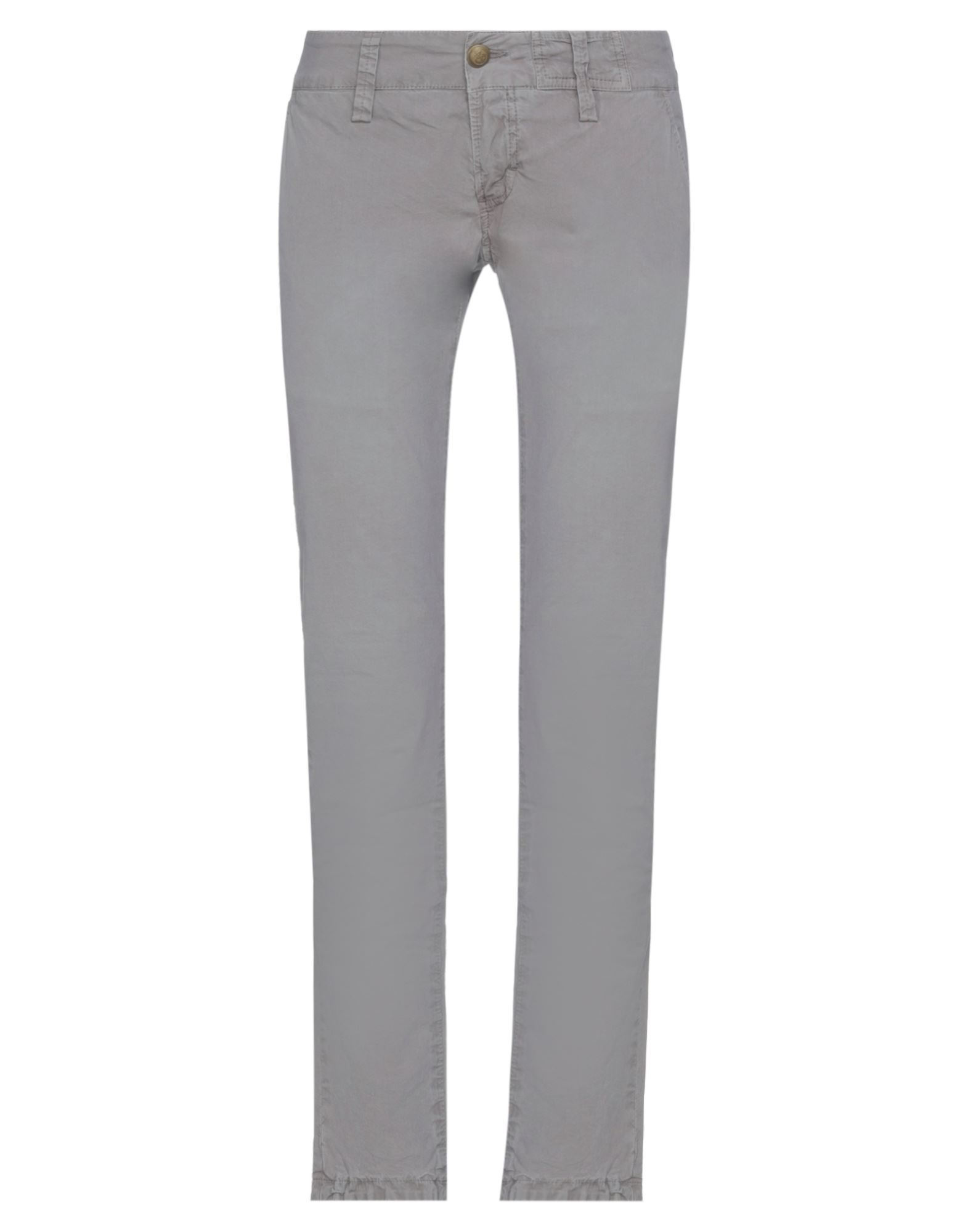 Monocrom Casual Pants In Grey