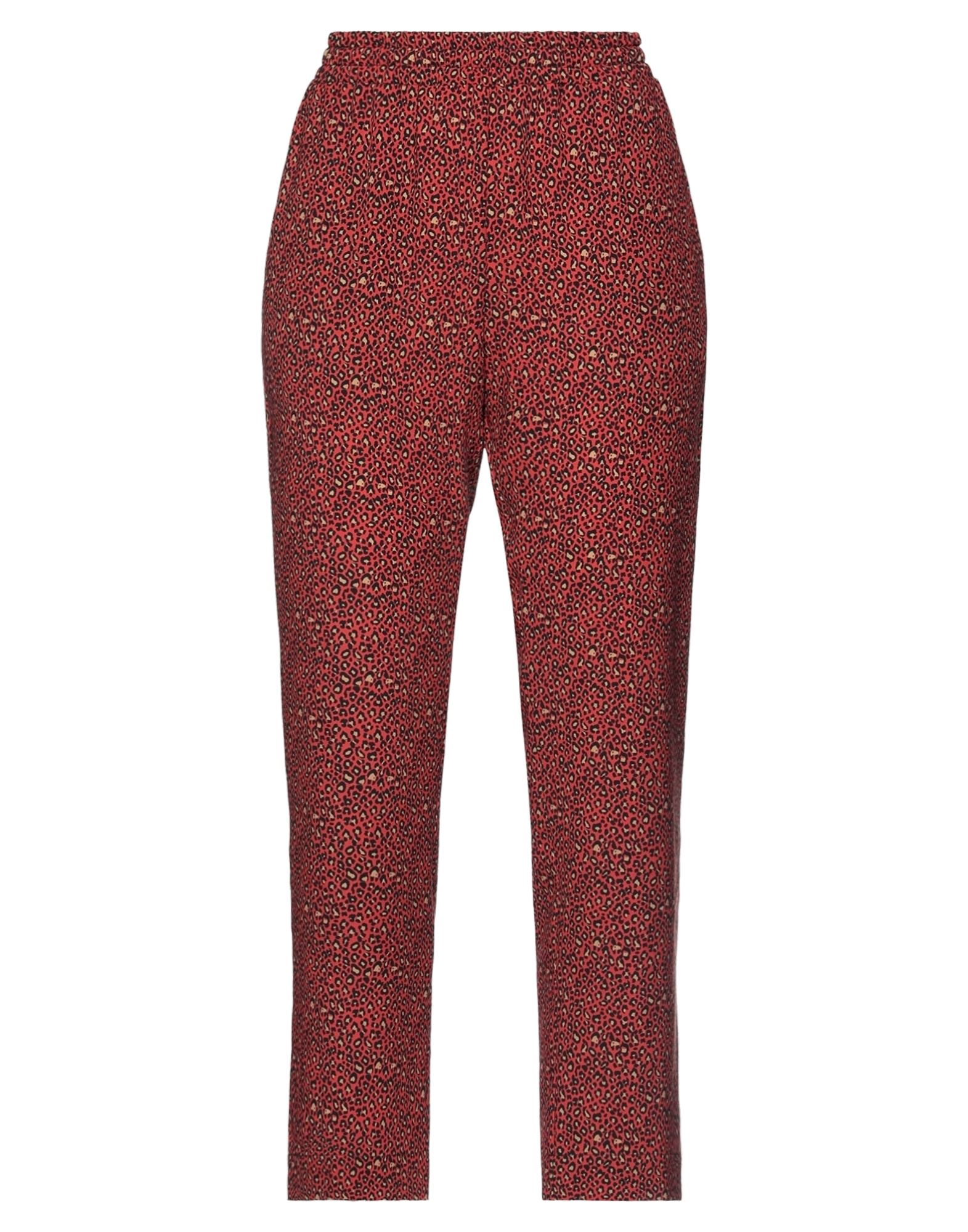 Suoli Casual Pants In Red