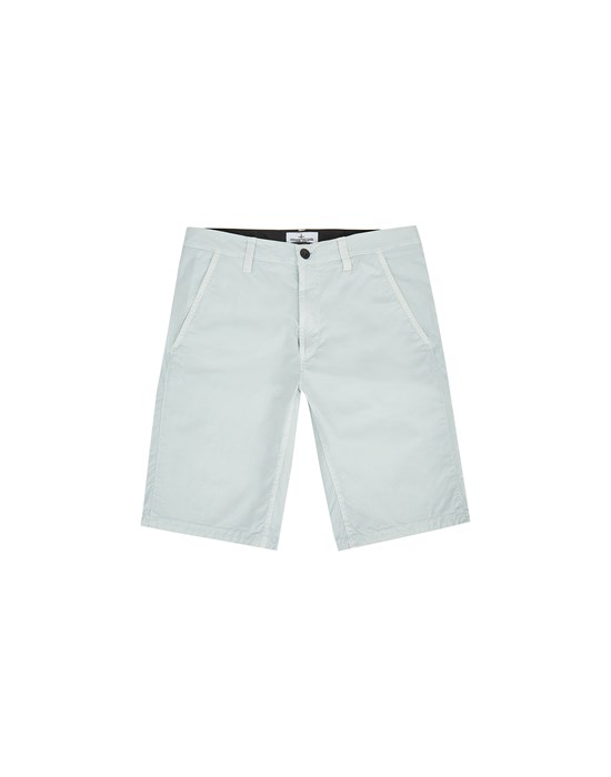 STONE ISLAND JUNIOR L0210 T.CO + OLD Bermuda shorts Man Sky Blue
