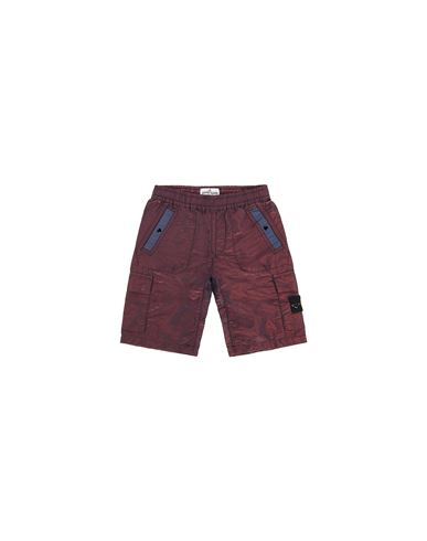 STONE ISLAND KIDS L0337 NYLON METAL COLOURED WEFT Swimming trunks FW Man Marine Blue USD 250