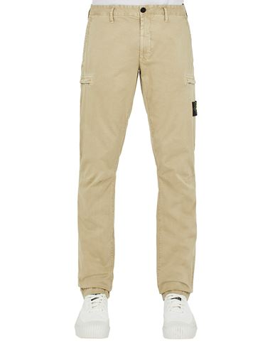 STONE ISLAND 32104 T.CO 'OLD'  Trousers Man Sand EUR 269