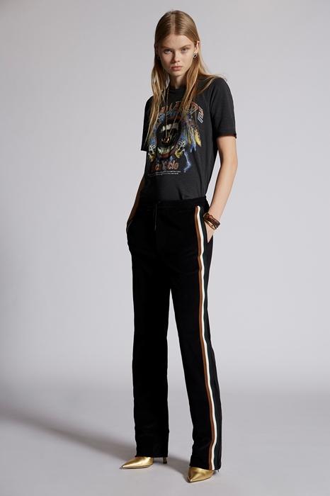 Pantalon Taille XXS 82% Coton 18% Nylon - Dsquared2 - Modalova