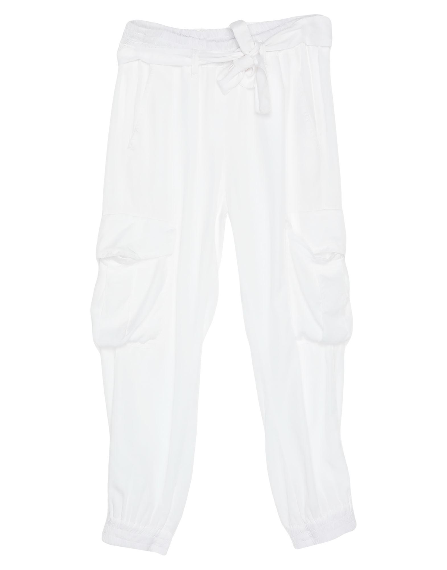 《セール開催中》L'AIR DE RIEN レディース パンツ ホワイト 26 指定外繊維(テンセル)? 100%
