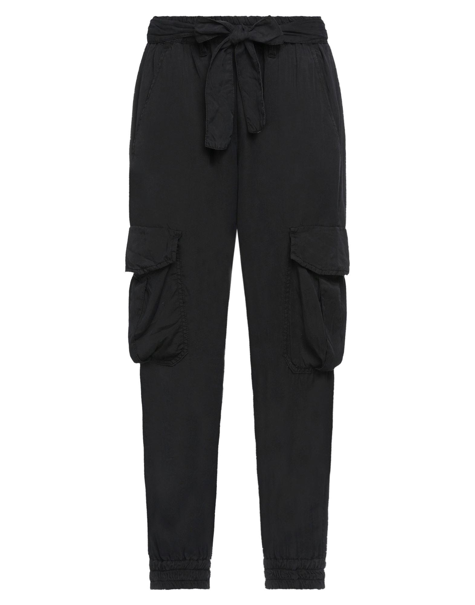 《セール開催中》L'AIR DE RIEN レディース パンツ ブラック 30 指定外繊維(テンセル)? 100%
