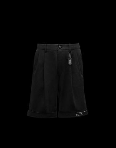 短裤 黑色 7 Moncler Fragment Hiroshi Fujiwara 男士