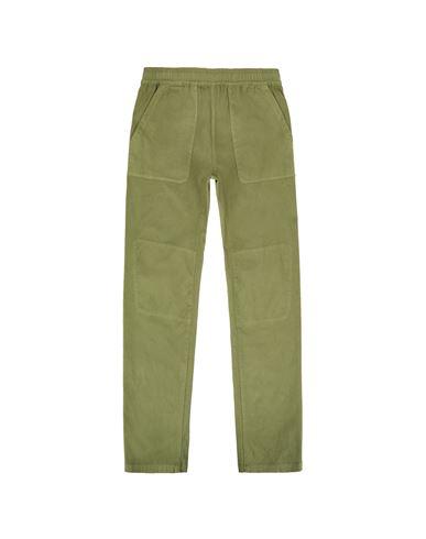 STONE ISLAND TEEN 30814 TROUSERS Man Sage Green USD 270