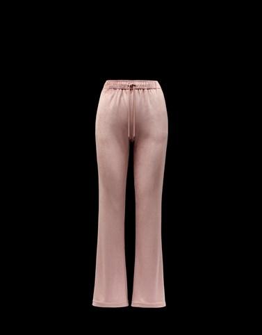 裤子 粉红色 半裙与裤装 女士