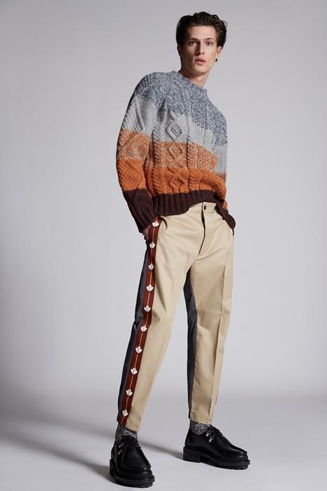 Pantalon Taille 40 100% Coton Polyester - Dsquared2 - Modalova