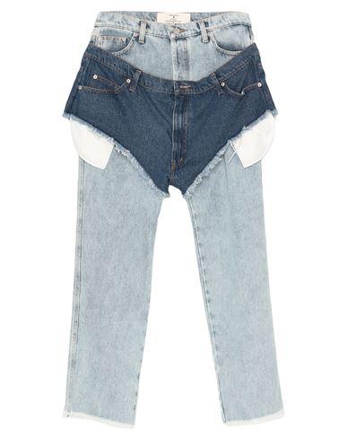 Джинсовые брюки NATASHA ZINKO