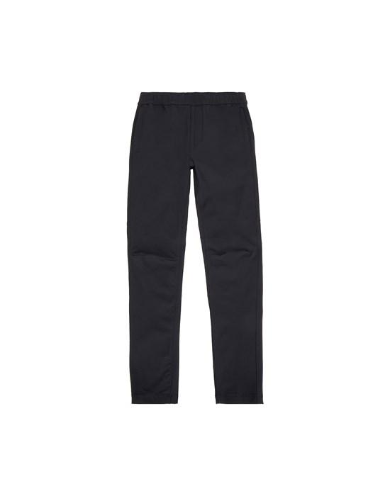 STONE ISLAND JUNIOR 30712 Fleece Trousers Man Black