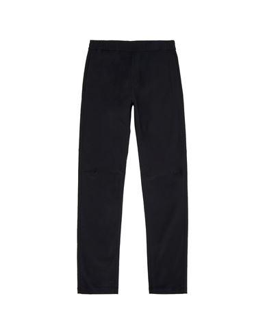 STONE ISLAND TEEN 30712 Fleece Trousers Man Black EUR 199