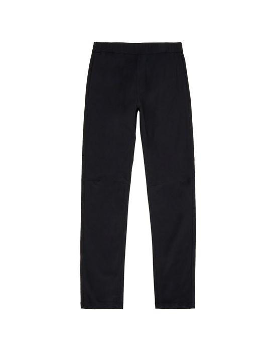 STONE ISLAND JUNIOR 30712 Fleece Pants Man Black