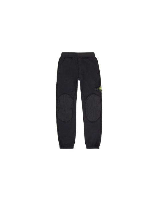 STONE ISLAND JUNIOR 60846 Fleece Trousers Man Black