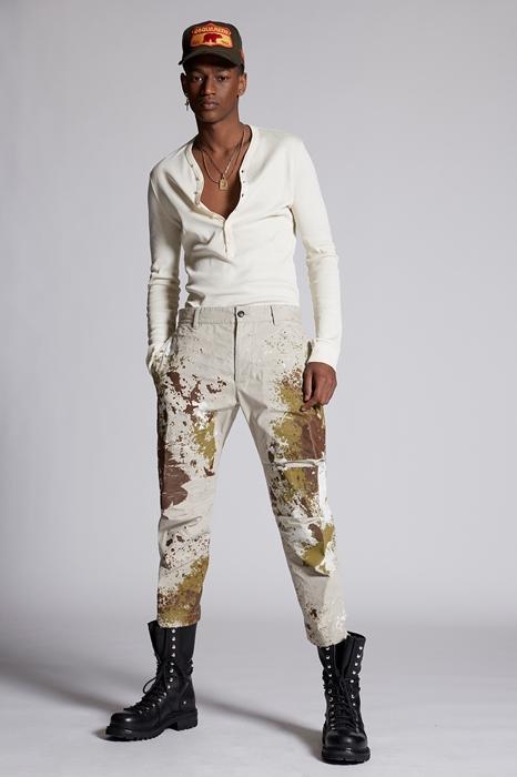 Pantalon Taille 40 100% Coton - Dsquared2 - Modalova